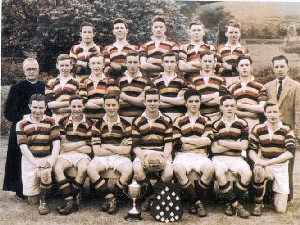 The Abbey Squad which won the MacRory Cup for the first time in 1954